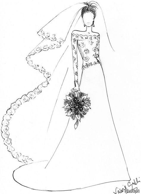 Cool Easy Simple Dress Design Drawing