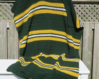 Blanket Green Bay Packers Blanket Green Bay Packers Crochet Blanket Crochet Blanket Gr Green Bay Packers Blanket Crochet Blanket Crochet Blanket Afghan