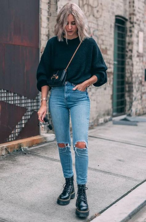 7 Best Combat Boot Styles You'll Want To Try - Her Style Code