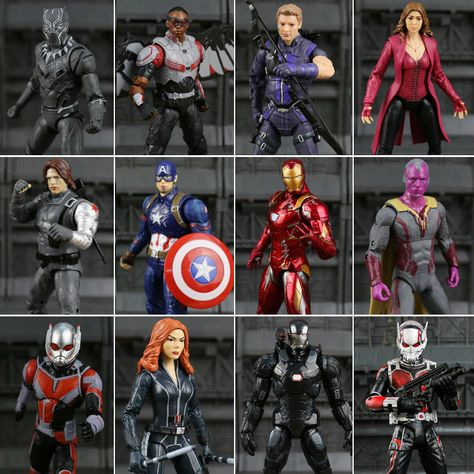 Marvel Super heroes FALCON figure US Seller SDCC Captain America Civil War