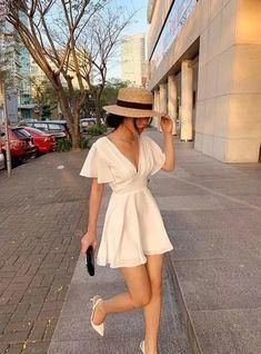 white homecoming dress , sexy outfit dress
