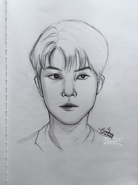 Hwang in yeop sketch