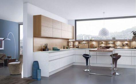 5 Sleek Matte Handleless Kitchens Kuchen Design Moderne Kuche Kuche Weiss Holz