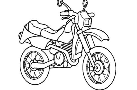 kinder malvorlagen motorrad | aiquruguay