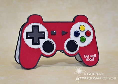 My Creative Time: MCT Guest Designer: Jeanne! Game controller card...perfect for the guys in your life!