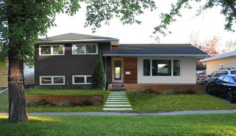 Split Level Home Ideas On Pinterest Split Level Home Split Level Remodel And Split Level Exterior