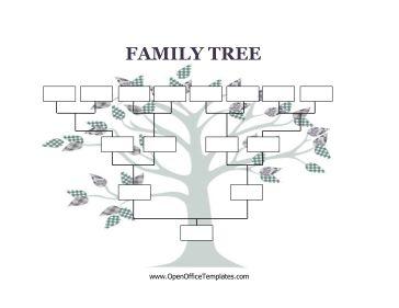 free family tree templates editable