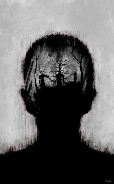 dark mind | Beautiful dark art, Art, Dark photography