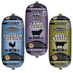 Redbarn Premium Dog Food Rolls Beef 4 Lb Premium Dog Food