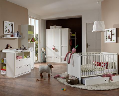 Kinderzimmer Nina extrabreit mit 2 Türen von Pinolino Neuheiten - pinolino babyzimmer design
