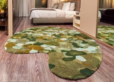 Monsilk Aquatic Green Upcycling Area Rug By The Carpet Maker Design Green Design Area Rugs