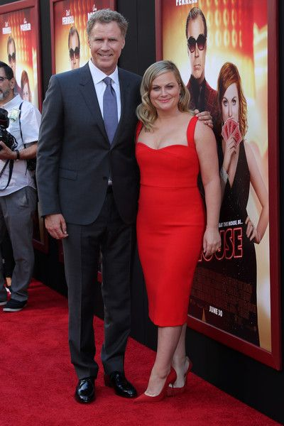 """Actors Will Ferrell and  Amy Poehler attend the premiere of Warner Bros. Pictures' """"The House"""" at TCL Chinese Theatre on June 26, 2017 in Hollywood, California."""