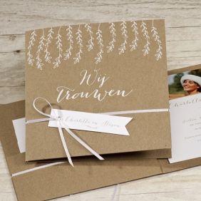 Mooie Romantische Trouwkaart Www Tadaaz Nl Trouwkaart