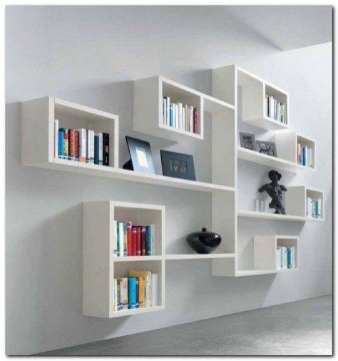 99 Bookshelf Ideas To Make Your Small Apartment Look Classy Rak