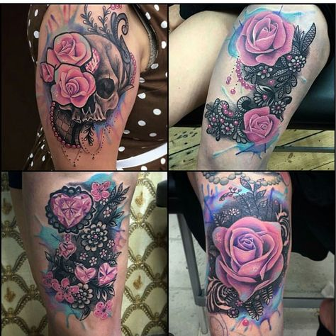 a5bf21fda Tattoos - Cover up Peony and bow - 117777 | Tattoos | Cover tattoo,  Tattoos, Flower cover up tattoos