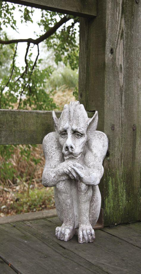 OrlandiStatuary Gargoyles Emmett Garden Statue Wayfair gargoyle