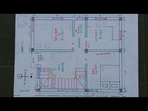 20 X 30 25 X 27 North East House Plan Walk Through Youtube Remodel Bedroom Small Bedroom Remodel Guest Bedroom Remodel