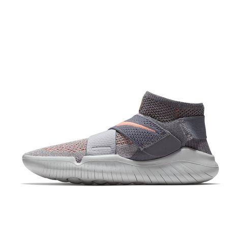 Nike Free Rn Motion Flyknit 2018 Women S Running Shoe Grey Nike Free Runs For Women Running Shoes Grey Womens Running Shoes