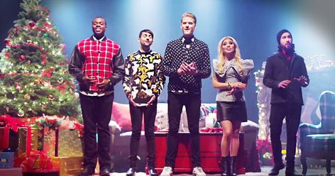 Pentatonix a cappella group will give you the Christmas jitters ...