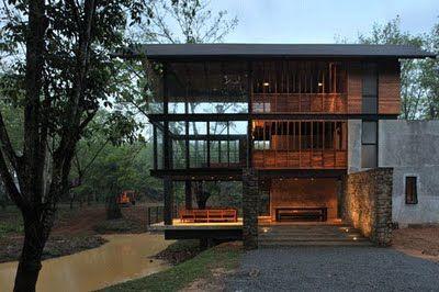 Casa Elevada Con Pilotes (511×351) | Casas | Pinterest | Tree Houses  And House