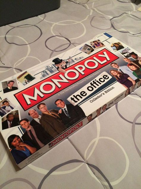 The Office Monopoly Board Game Theoffice Gifts Giftsthegiddy Monopoly Board Monopoly Board Games