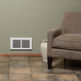 Cadet Register 1 500 Watt 120 Volt Heater Fan Heater 4 In L X 7 375 In H Lowes Com Heater Fan Lowes Home Improvements Heater