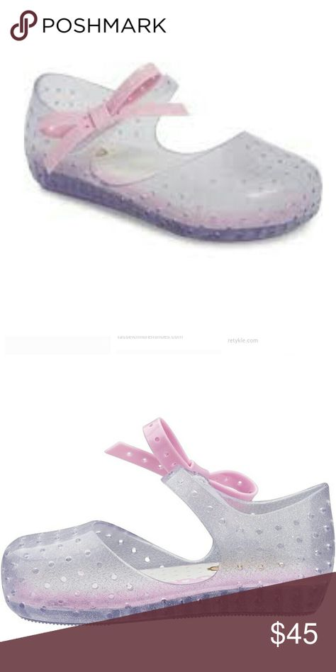 New Mini Melissa Furadinha X Mary Jane Flat Brand New No box Mini Melissa Shoes