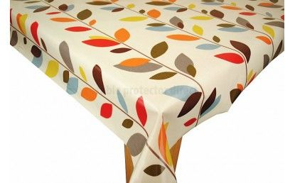 Leaves Olive Multi Oilcloth Tablecloth | Tablecloth | Pinterest | Oilcloth,  Leaves And Vinyl Tablecloth