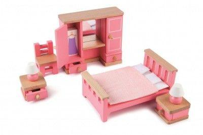 Tidlo Wooden Dolls House Kitchen Furniture Set