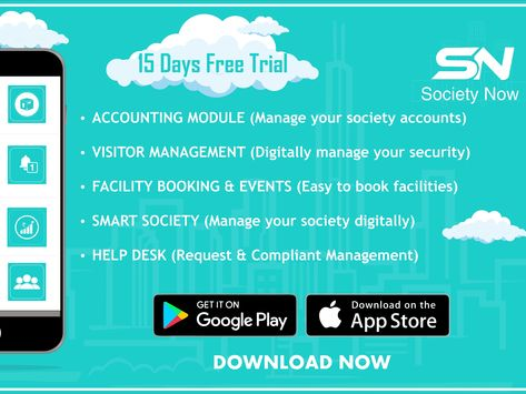 Download Our App Society Management Software Management Software App