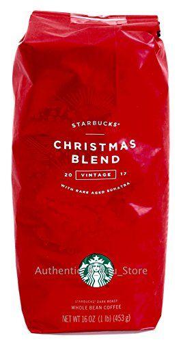 Starbucks Christmas Hours 2019 2017 Starbucks Christmas Blend Whole Bean Coffee 1 pound bag