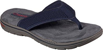 Skechers Relaxed Fit Evented Borte Mens Flip Flops Review Skechers Relaxed Fit Mens Flip Flops Skechers