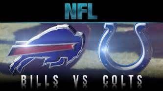 Indianapolish Colts Vs Buffalo Bills Live Stream Buffalo Bills Indianapolis Colts Indianapolis