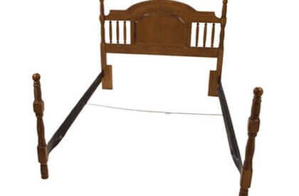 No 1 Twin Full Hook Side Rails Steel Bed Frame Steel Bed