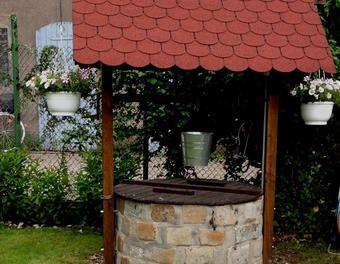 Brunnen Mauern Bauanleitung Kerti Otletek Kerteszkedes Kert