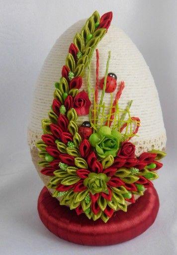 Piekne Jajko Pisanka Ozdoby Wielkanocne Rekodzielo 7165947305 Oficjalne Archiwum Allegro Crafts Easter Egg Decorating Creative