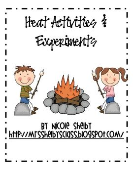 Heat Activities And Experiments First Grade Activities 4th