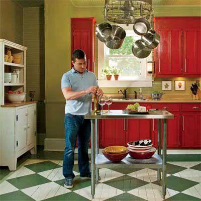 Editors Picks Our Favorite Green Kitchens
