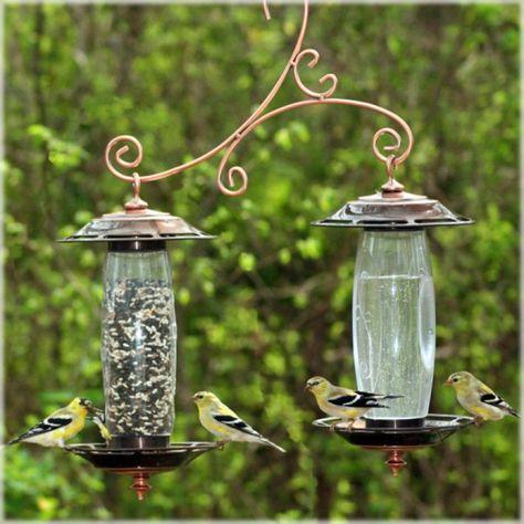 Abreuvoir & Mangeoire à oiseaux pour le jardin Perky-Pet®