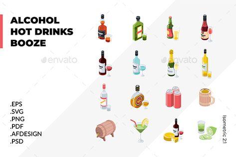 Alcoholic Drinks Alcoholic Drinks Drink Icon Alcohol