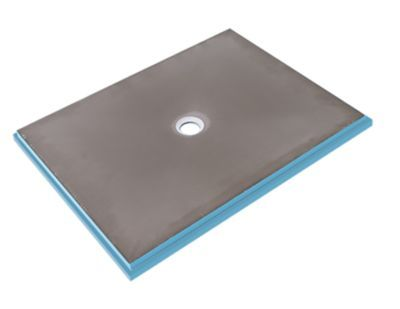 Wedi Fundo Primo Shower Base Center Drain 48 X 84 In Shower Base Shower Installation The Tile Shop