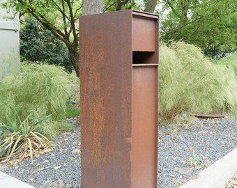 Etsy Your Place To Buy And Sell All Things Handmade Steel Mailbox Modern Mailbox Custom Mailboxes