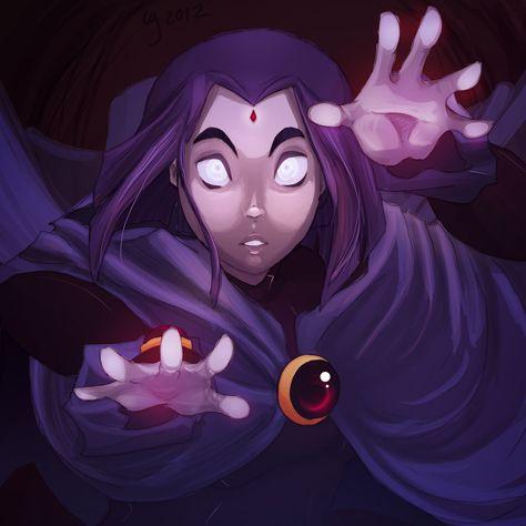 Teen Titans Raven (love this show!!)