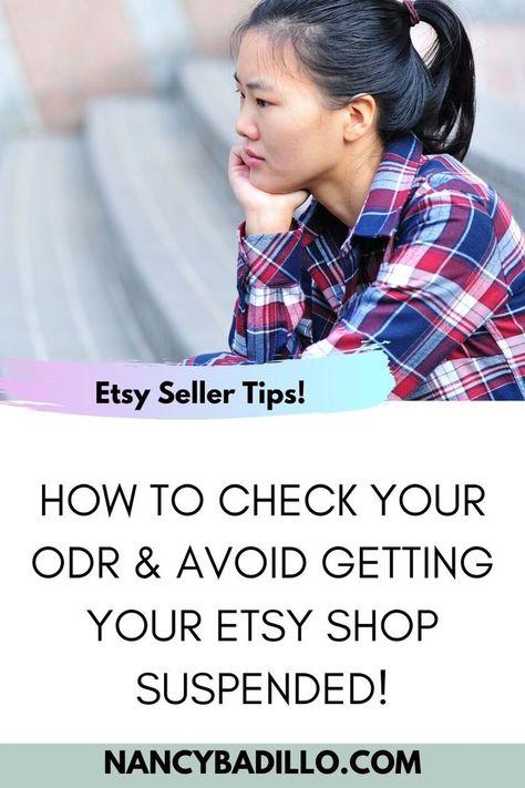 Etsy ODR | Etsy Suspended My Account | Etsy 2020 | Nancy Badillo