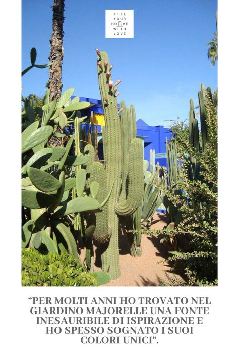 Viaggiare: I giardini Majorelle a Marrakech | Fillyourhomewithlove