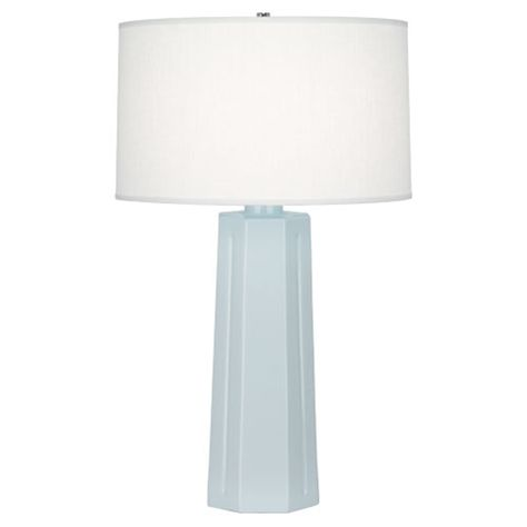 Robert Abbey Mason Baby Blue Table Lamp Lighting