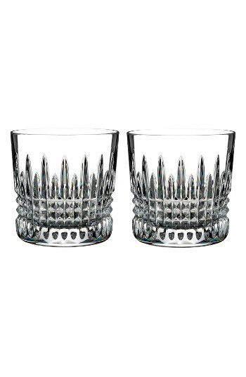 Waterford Waterford Giftology Lismore Diamond Set Of 2 Lead Crystal Double Old Fashioned Glasses Available At Nordstr Waterford Crystal Giftology Lead Crystal