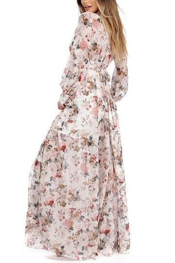 b7b2b363fb Get the Look: Adele's Floral Gown in Her 'Send My Love' Music Video | does  it ring a bell? | Dresses, Floral gown, Designer dresses