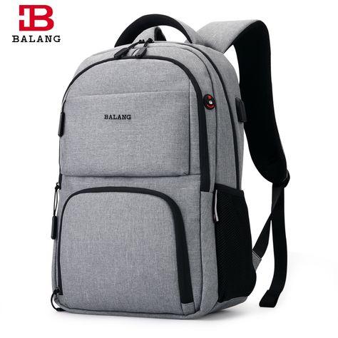 BALANG 2017 мужские рюкзаки унисекс многоцелевой женщины рюкзак школьные  сумки для ноутбука 15.6 ноутбук Водонепроницаемый Mochila Feminina 6d315101c2c