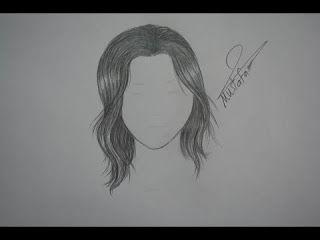 تعلم كيفية رسم الشعر بالرصاص ابسط طريقة للمبتدئين كورس عربى How To Draw Hair Black Phone Wallpaper Easy Drawings